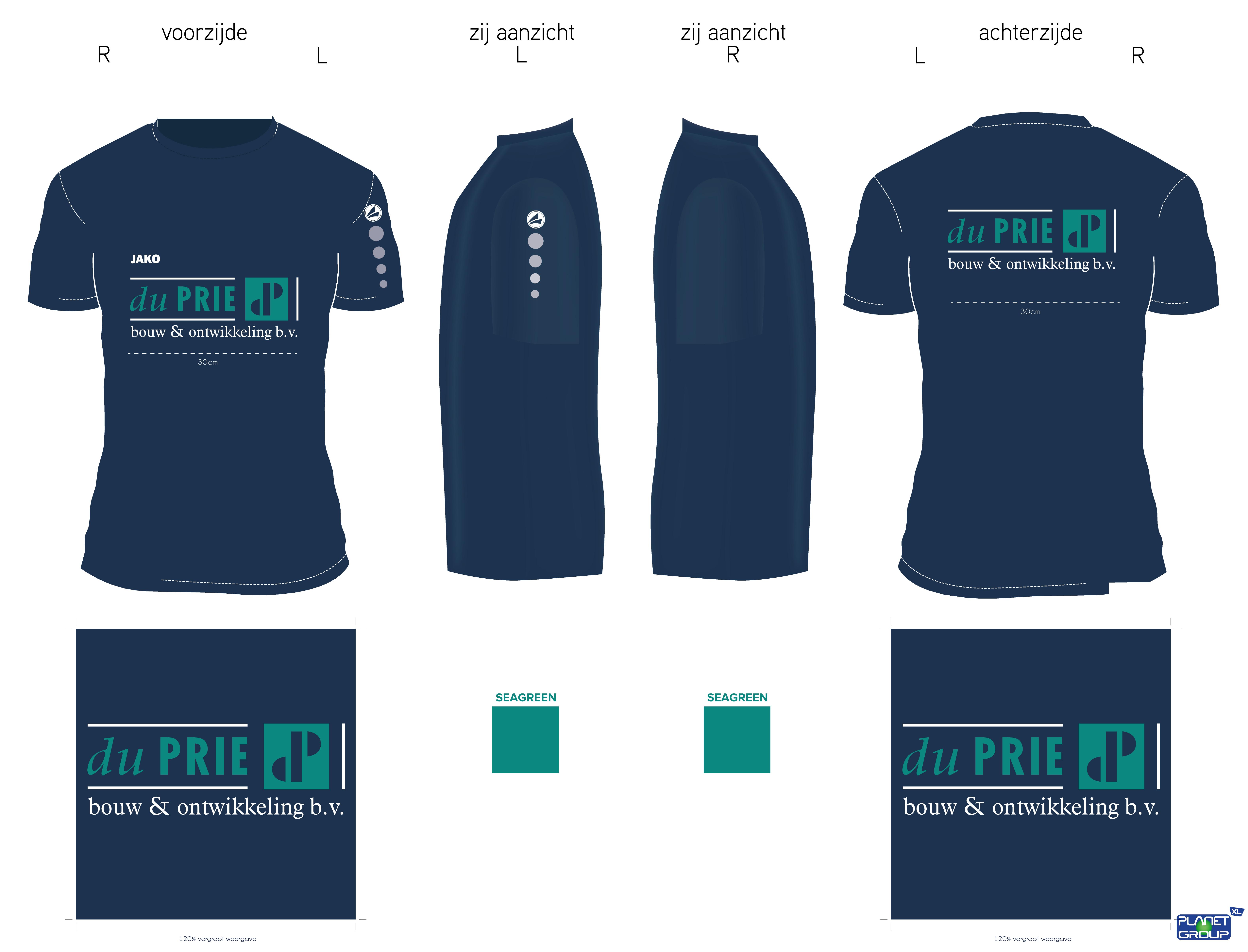 Duprie_blue_T-Shirt_broek_proefdrukken