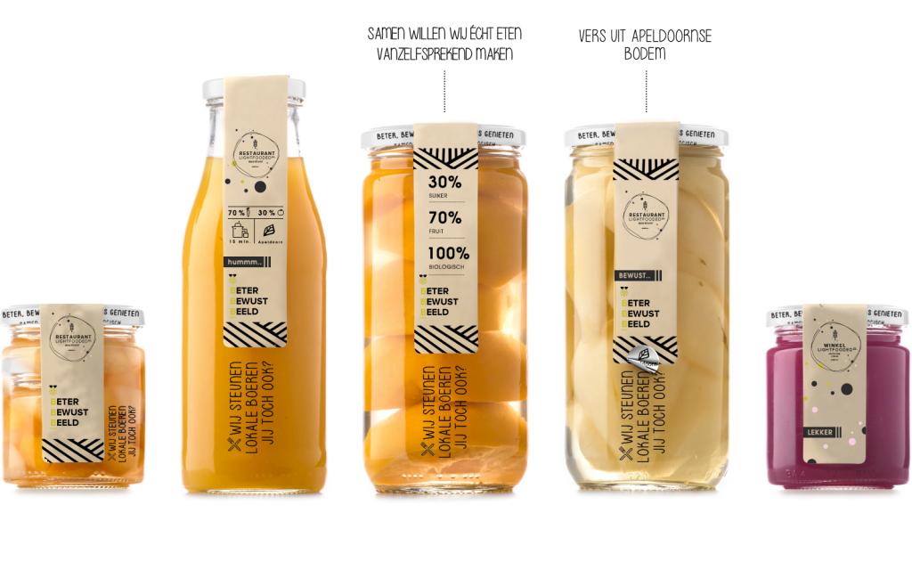 Packaging design | Lightfooded