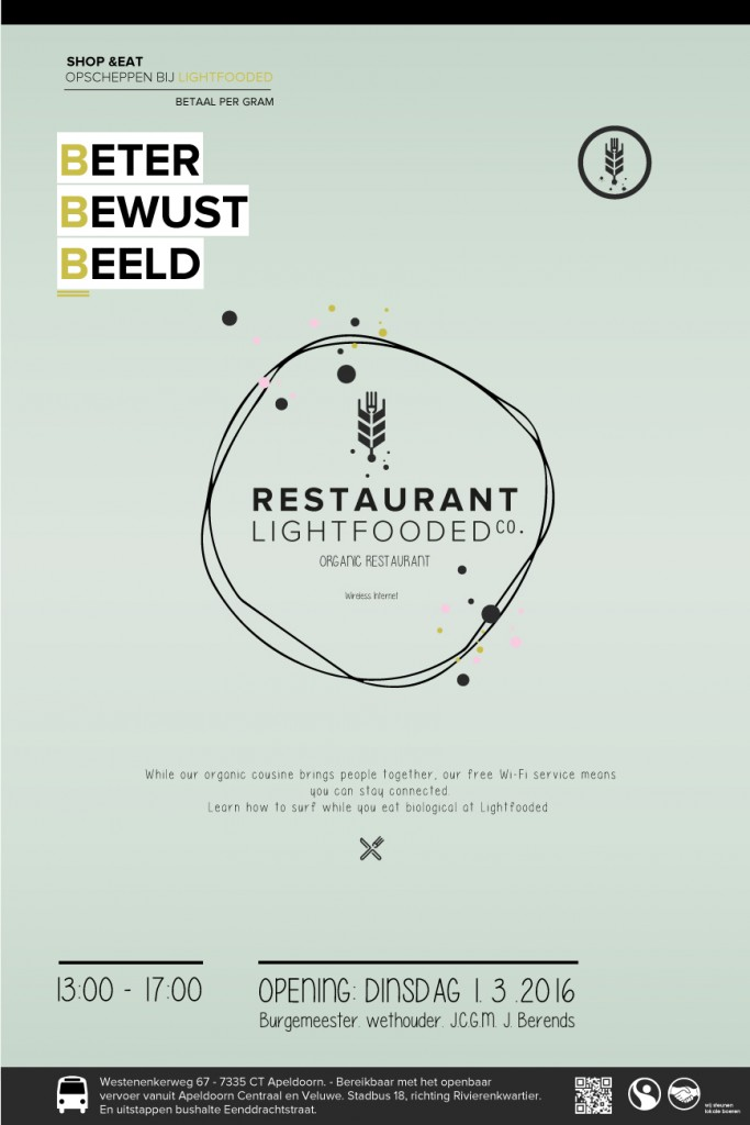 Lightfooded poster
