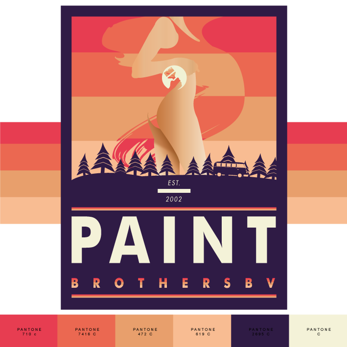 Logo The Paint Brothers