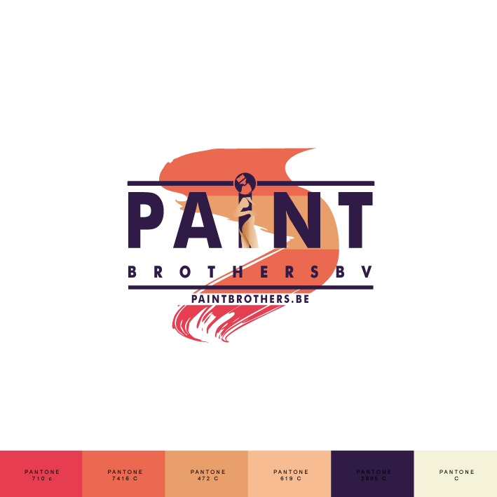 The Paint Brothers Logo Secundaire