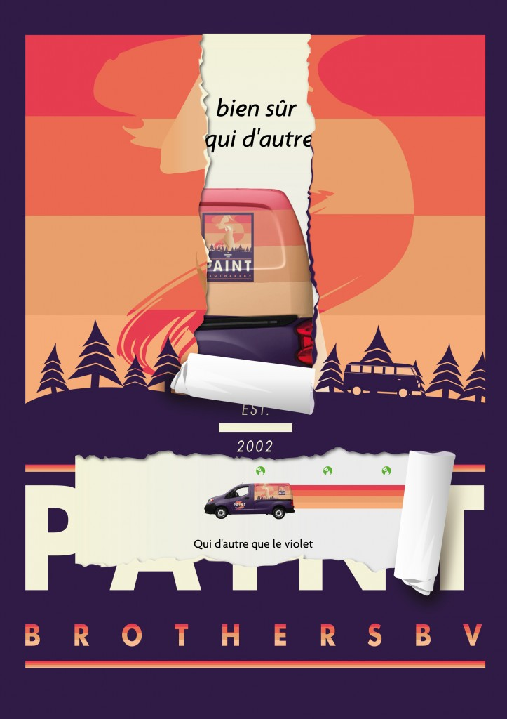 The Paint Brothers A0 Poster design