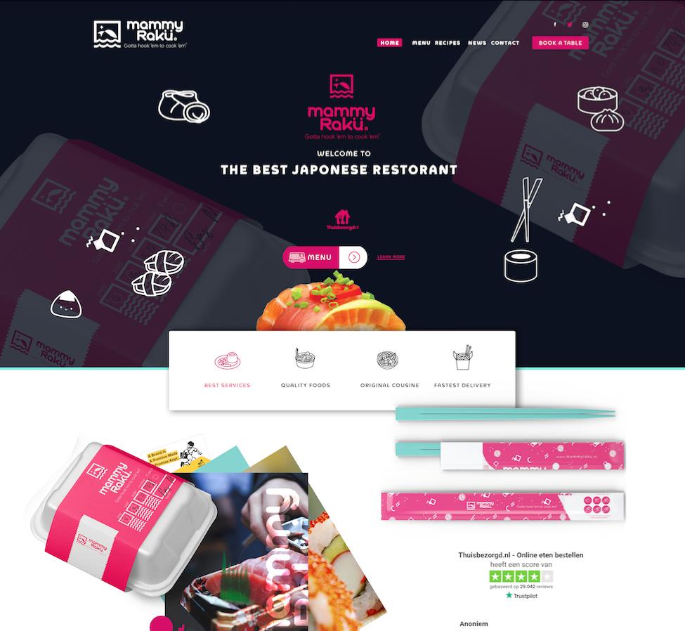 M a m m y R a k ü - Webdesign