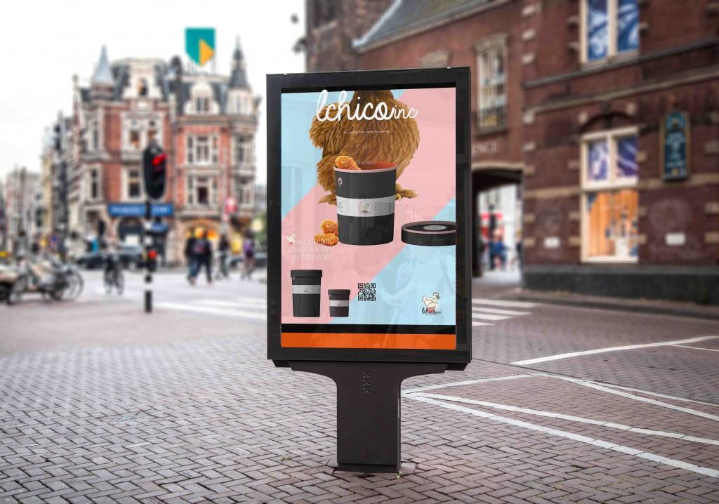lchoco - AO poster street billboard
