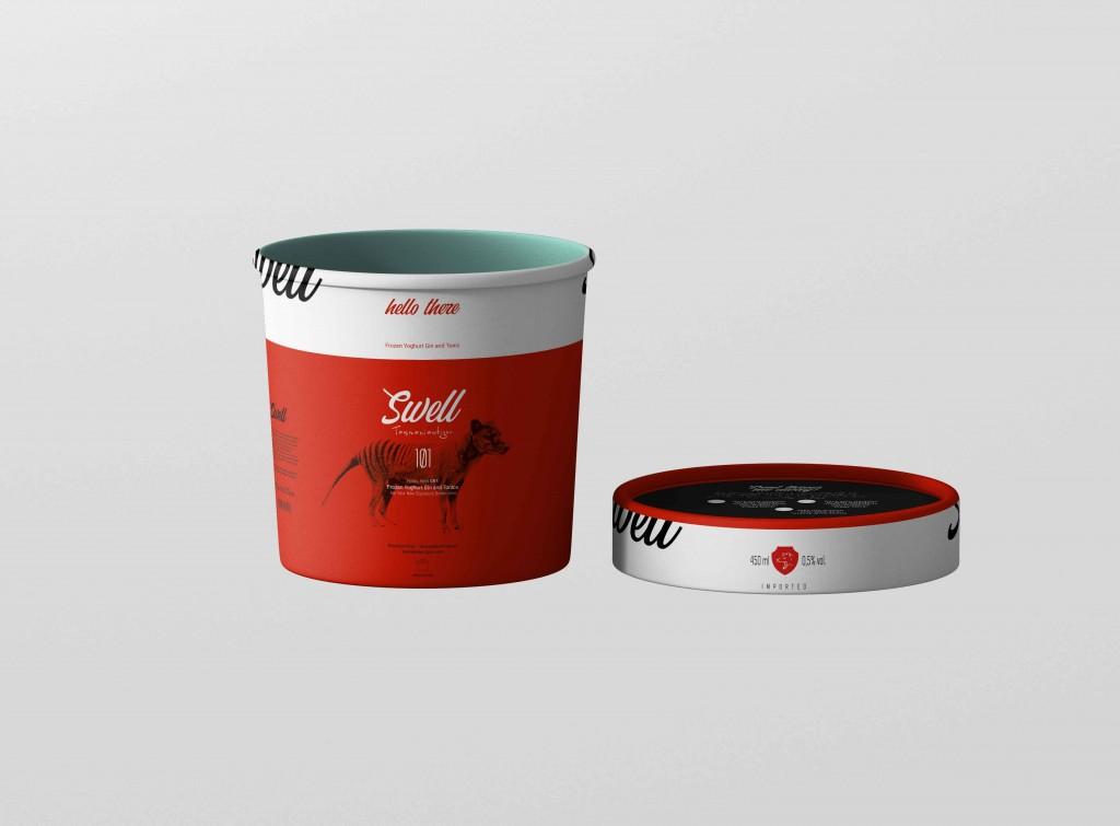 Swell Tasmaniantiger - Packaging BrandIdentity