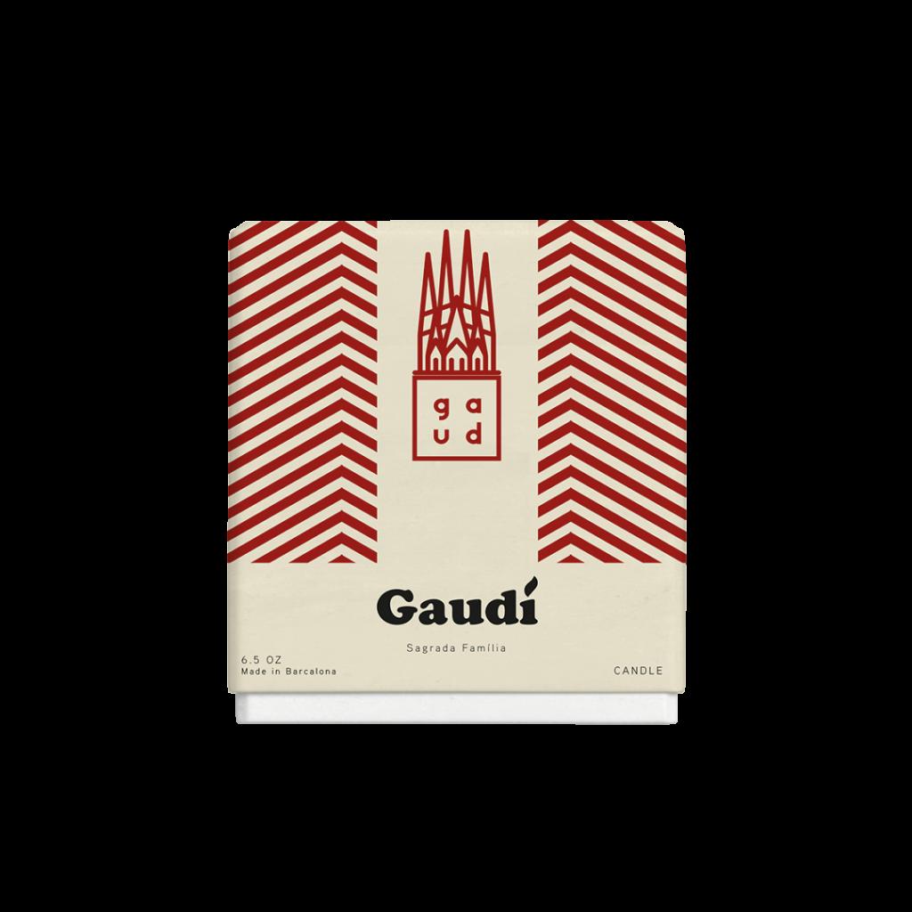 Guidí Candles: Sagrada Família - Red