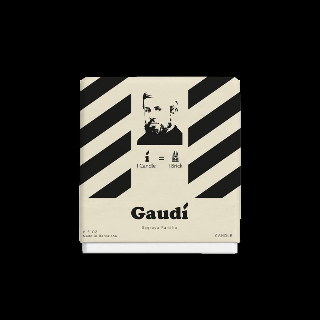 Guidí Candles: Sagrada Família - Backside