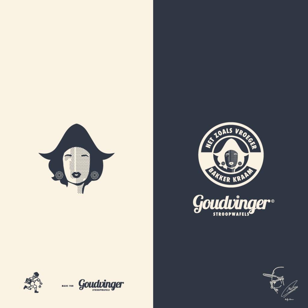 Goud vinger: Brand Identity Logotype