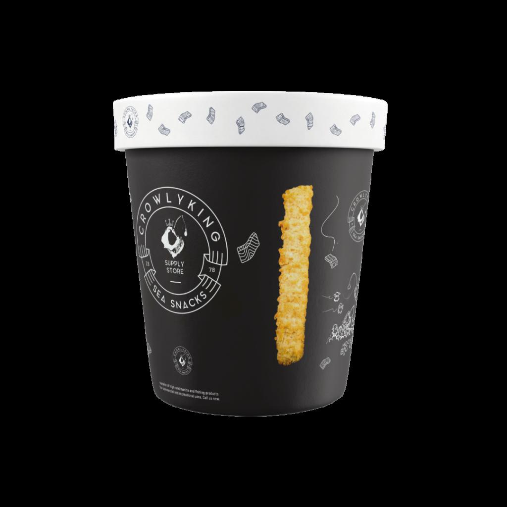 CrowlyKing Packaging Design - Black Flavor