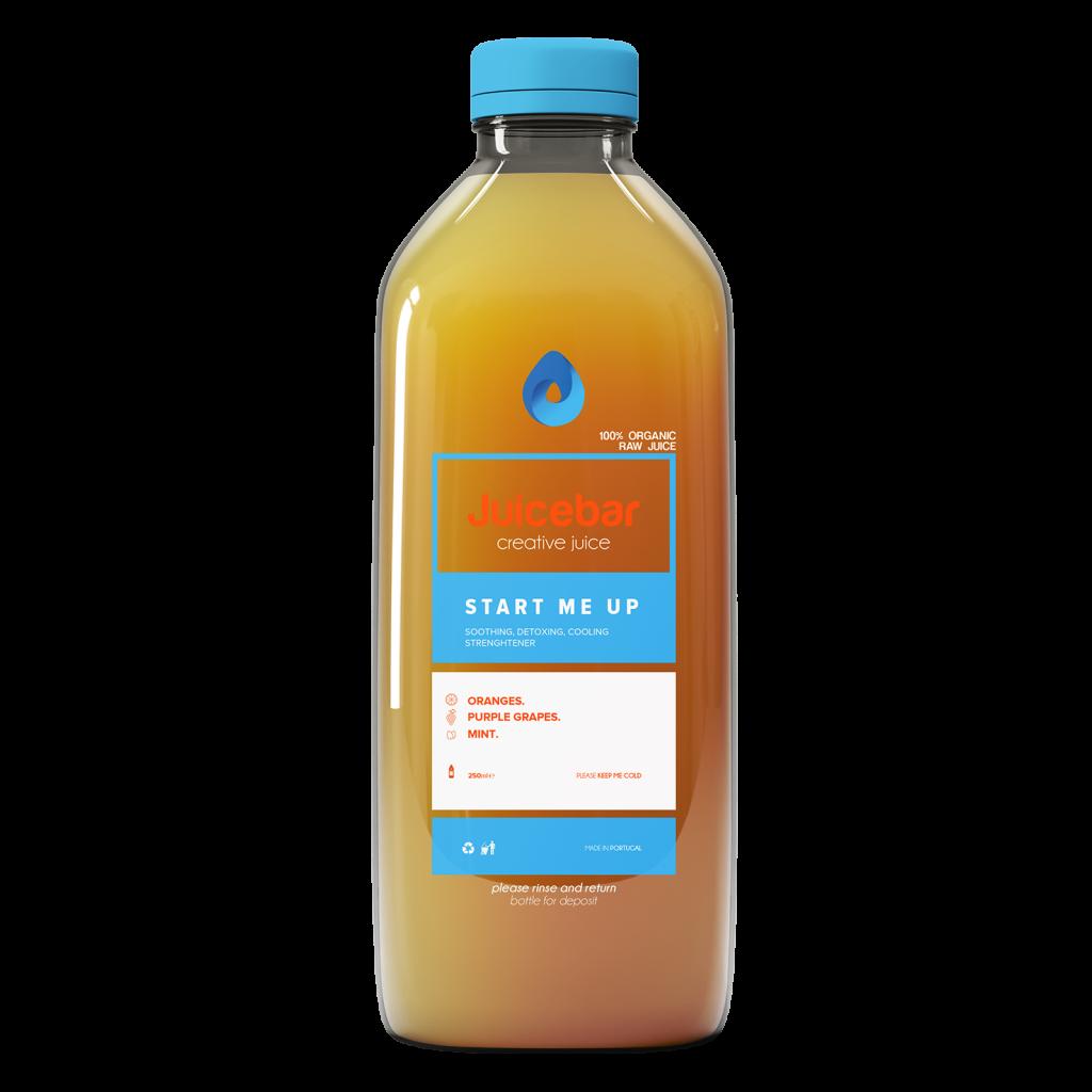 JuiceBar Packaging - Orange Juice