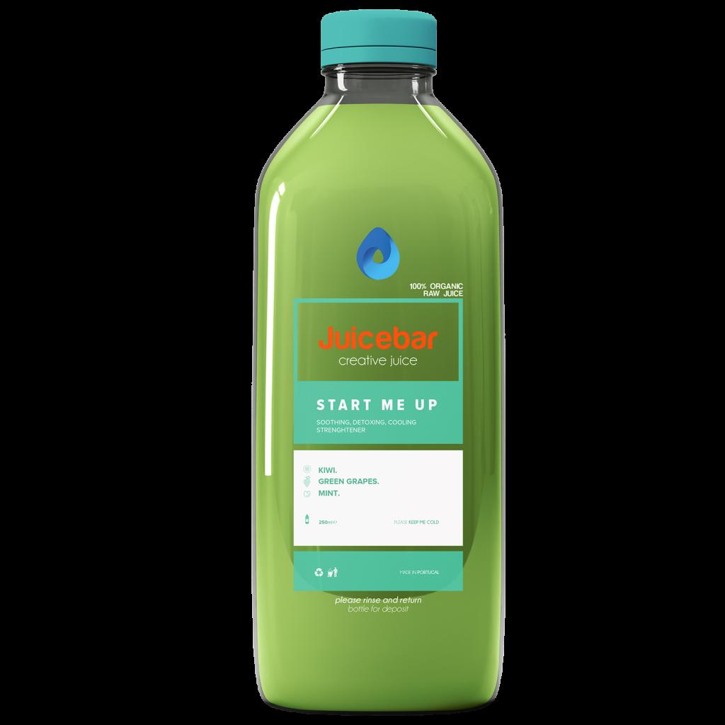 JuiceBar Packaging - Kiwi Juice