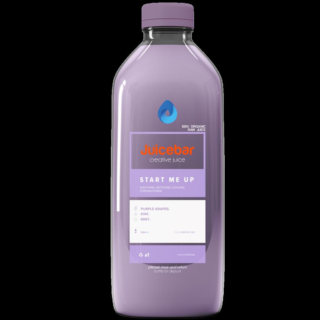 JuiceBar Packaging - Grape Juice