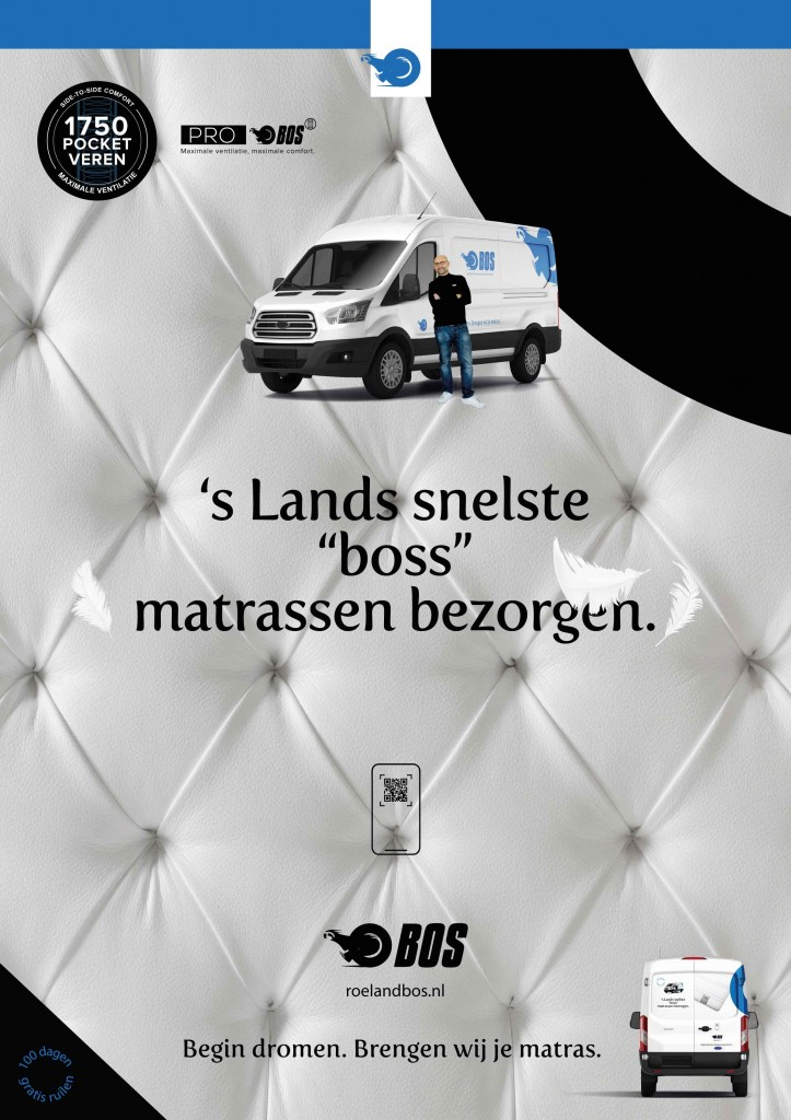 Roeland Bos - A0 Poster Design